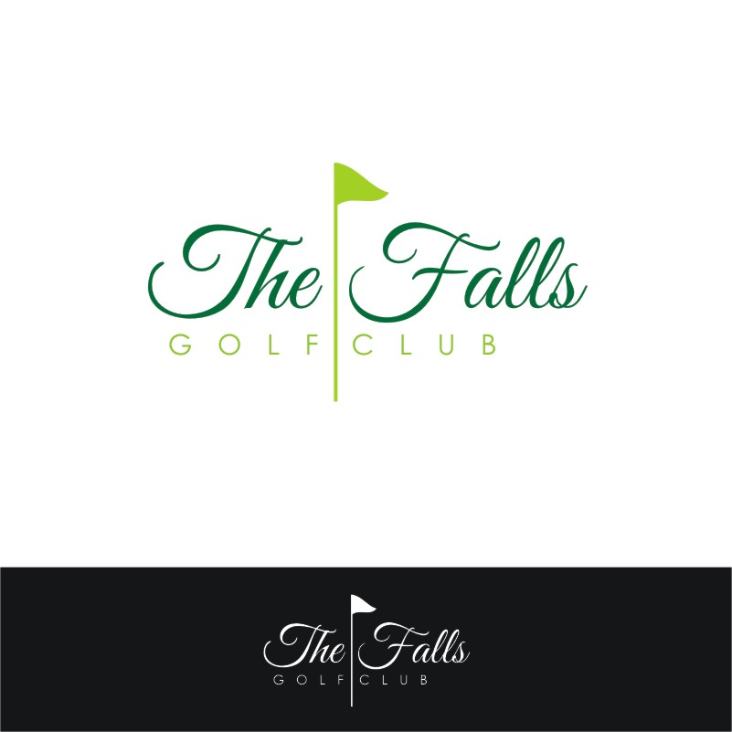 Logo Design by Private User - Entry No. 154 in the Logo Design Contest The Falls Golf Club Logo Design.