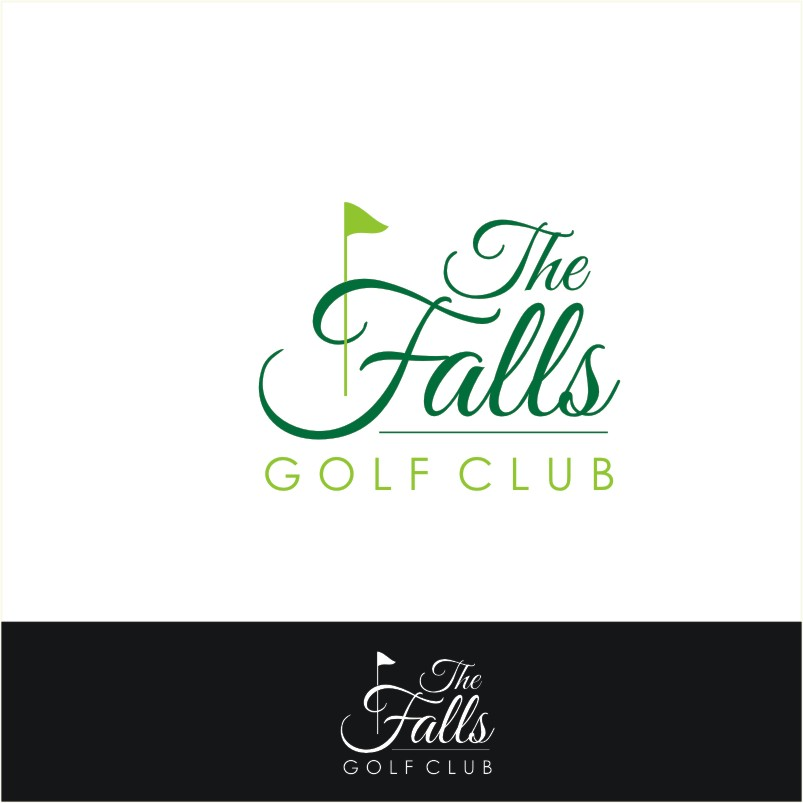 Logo Design by Private User - Entry No. 155 in the Logo Design Contest The Falls Golf Club Logo Design.