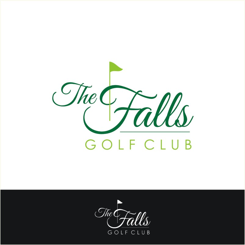 Logo Design by Private User - Entry No. 156 in the Logo Design Contest The Falls Golf Club Logo Design.