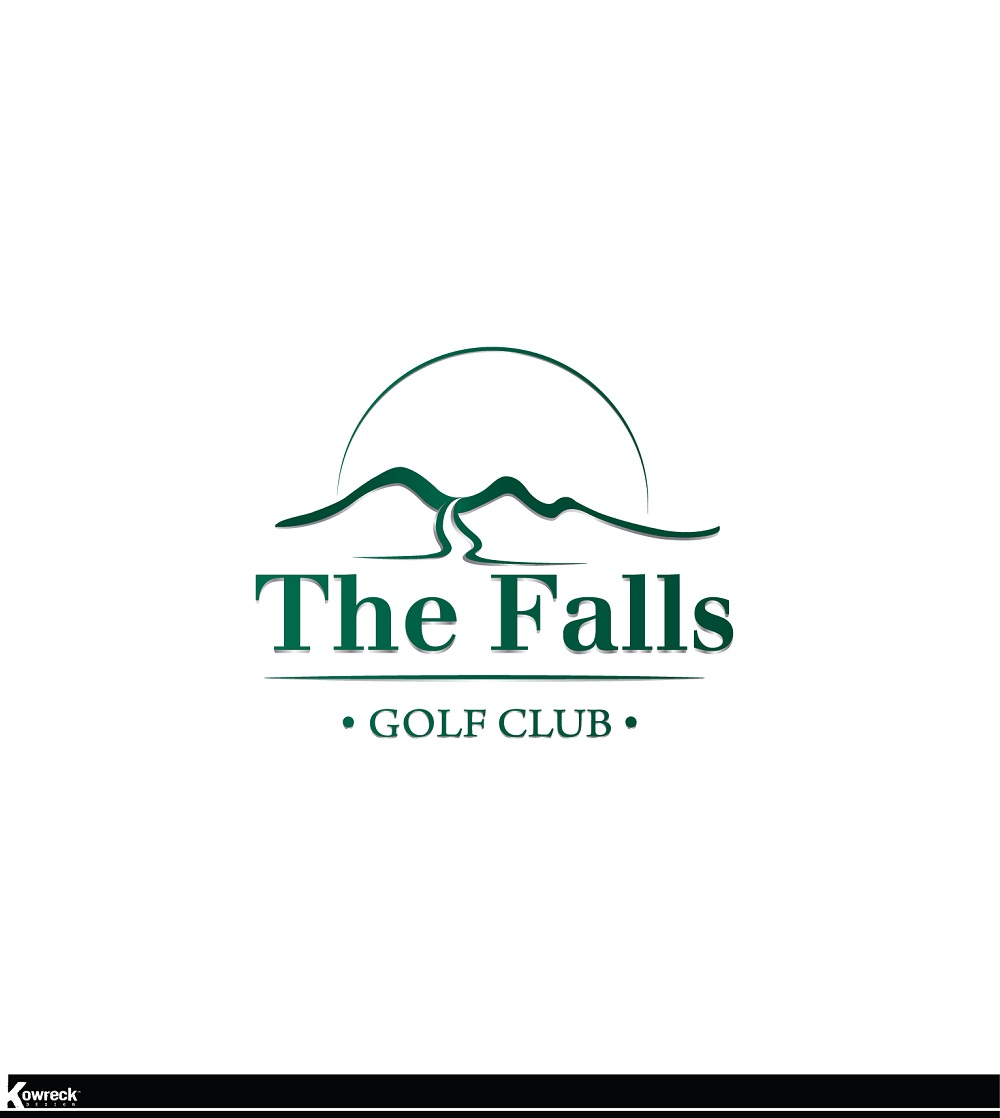 Logo Design by kowreck - Entry No. 160 in the Logo Design Contest The Falls Golf Club Logo Design.