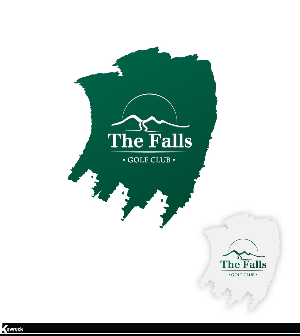 Logo Design by kowreck - Entry No. 161 in the Logo Design Contest The Falls Golf Club Logo Design.