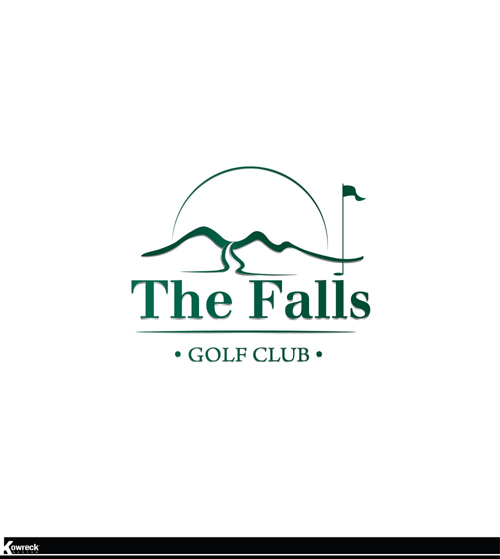 Logo Design by kowreck - Entry No. 162 in the Logo Design Contest The Falls Golf Club Logo Design.