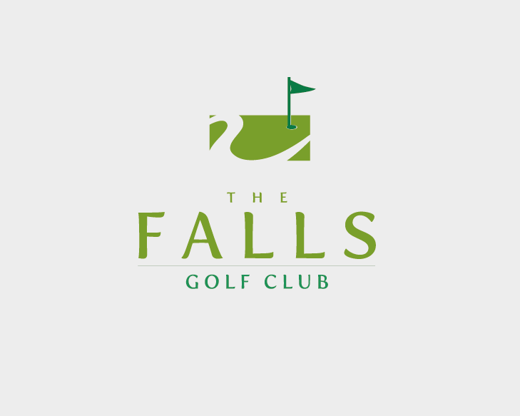 Logo Design by Private User - Entry No. 163 in the Logo Design Contest The Falls Golf Club Logo Design.