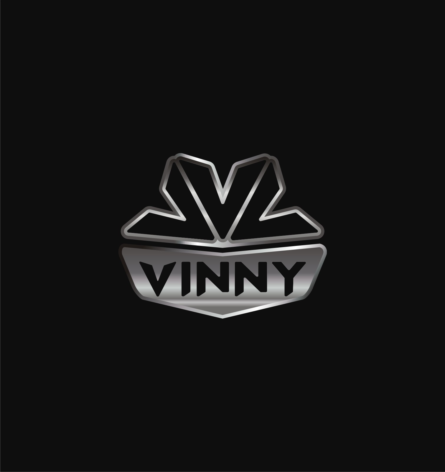 Logo Design by Private User - Entry No. 184 in the Logo Design Contest Unique Logo Design Wanted for Vinny.