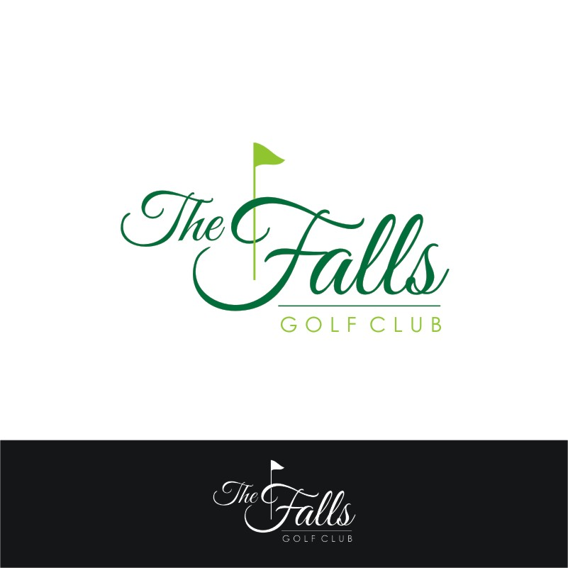 Logo Design by Private User - Entry No. 164 in the Logo Design Contest The Falls Golf Club Logo Design.