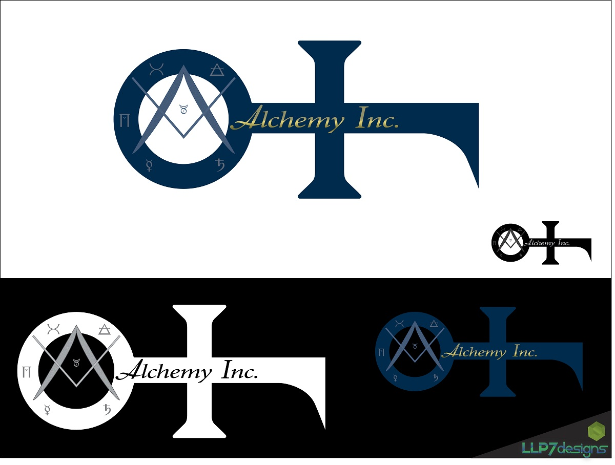 Logo Design by LLP7 - Entry No. 72 in the Logo Design Contest Logo Design for Alchemy Inc (Creative/Edgy/Sophisticated).