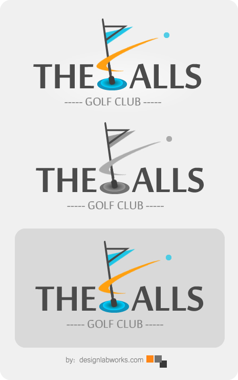 Logo Design by Private User - Entry No. 167 in the Logo Design Contest The Falls Golf Club Logo Design.