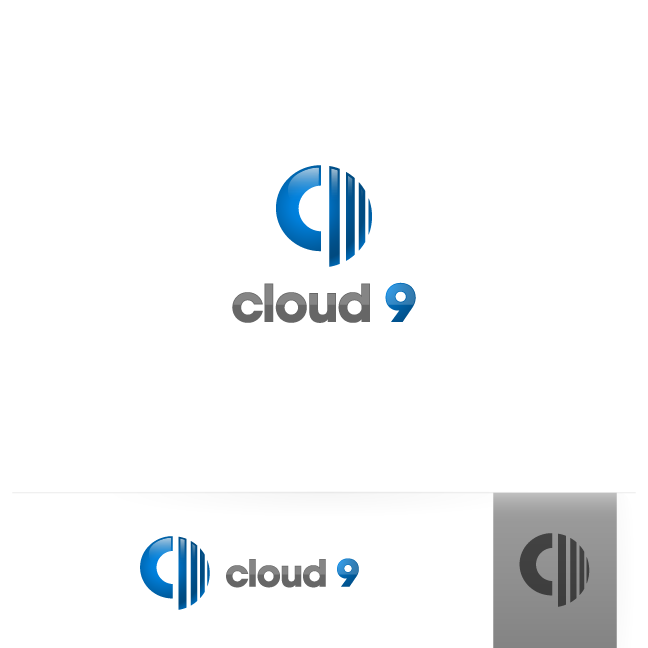 Logo Design by zesthar - Entry No. 146 in the Logo Design Contest Unique Logo Design Wanted for Cloud 9 Inc.