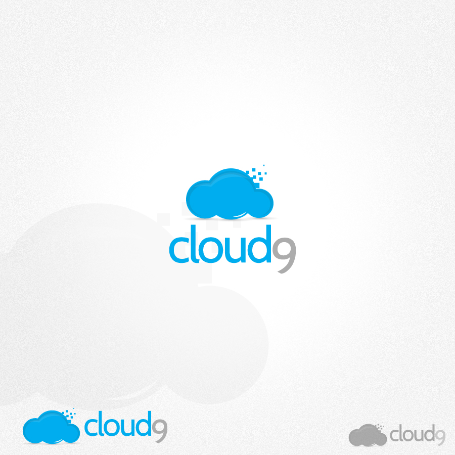 Logo Design by rockpinoy - Entry No. 147 in the Logo Design Contest Unique Logo Design Wanted for Cloud 9 Inc.