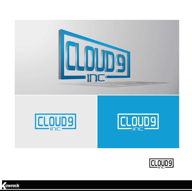 Logo Design by kowreck - Entry No. 154 in the Logo Design Contest Unique Logo Design Wanted for Cloud 9 Inc.