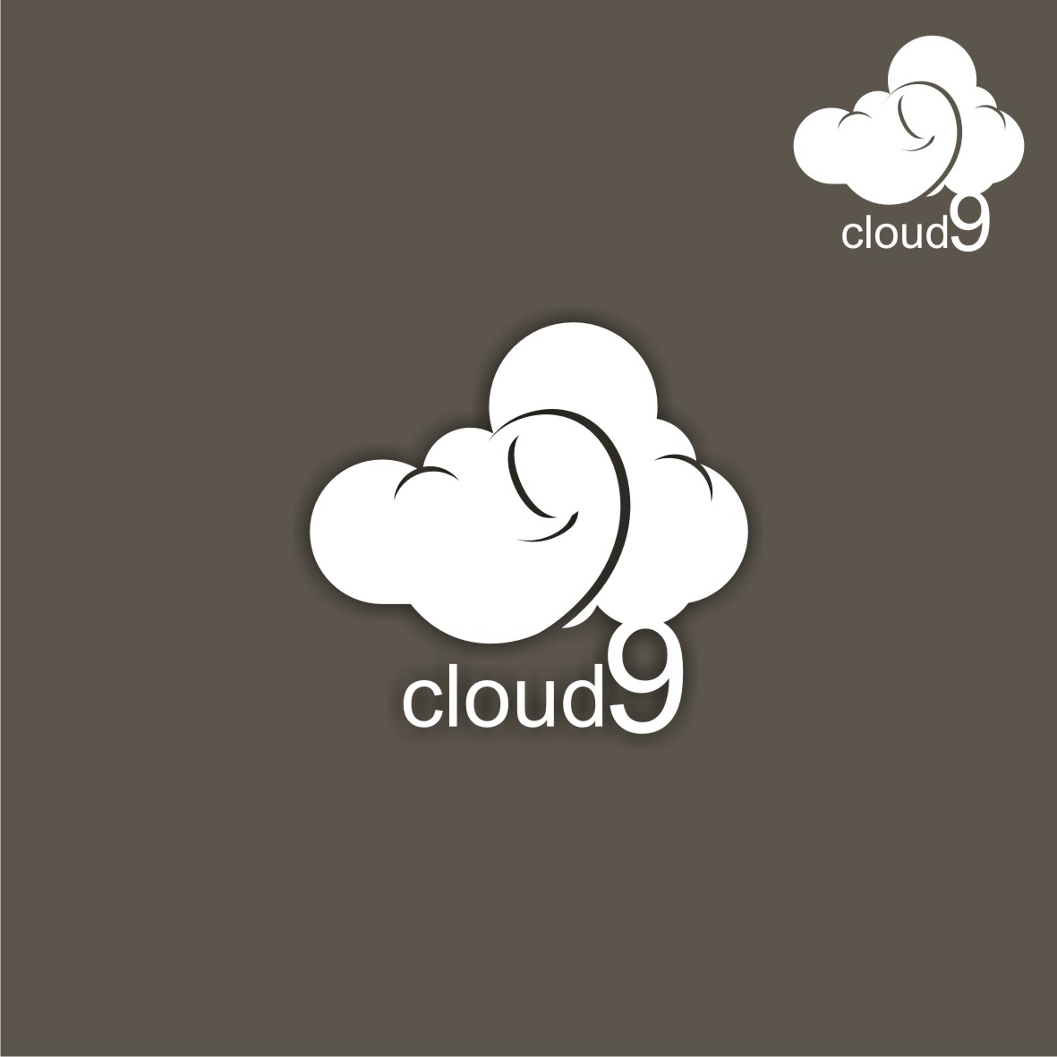 Logo Design by arteo_design - Entry No. 157 in the Logo Design Contest Unique Logo Design Wanted for Cloud 9 Inc.