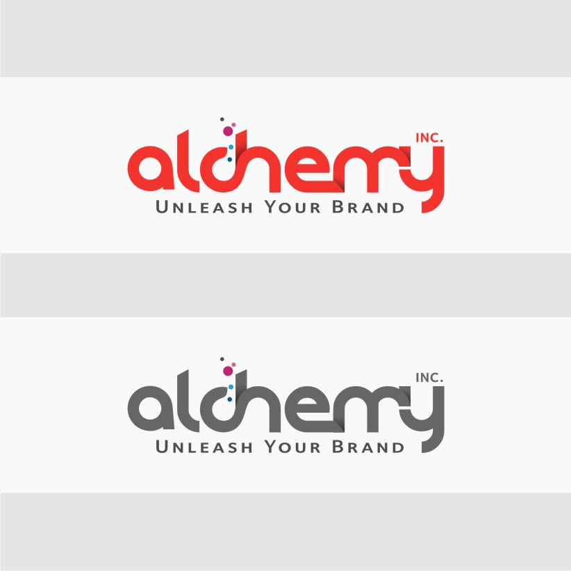 Logo Design by graphicleaf - Entry No. 91 in the Logo Design Contest Logo Design for Alchemy Inc (Creative/Edgy/Sophisticated).