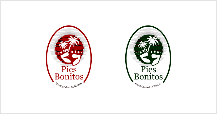 Logo Design by Muhammad Aslam - Entry No. 45 in the Logo Design Contest Unique Logo Design Wanted for Pies Bonitos.