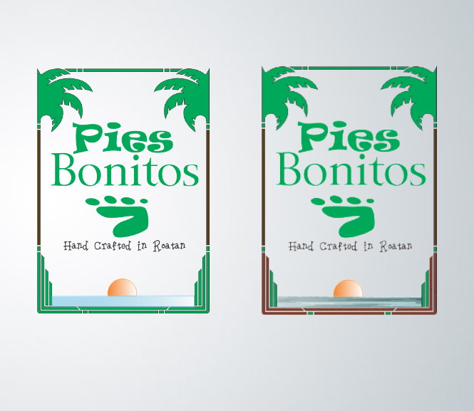 Logo Design by Clifton Gage - Entry No. 54 in the Logo Design Contest Unique Logo Design Wanted for Pies Bonitos.