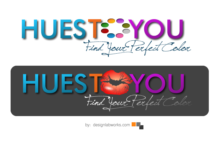 Logo Design by Private User - Entry No. 114 in the Logo Design Contest Hues To You Logo Design.