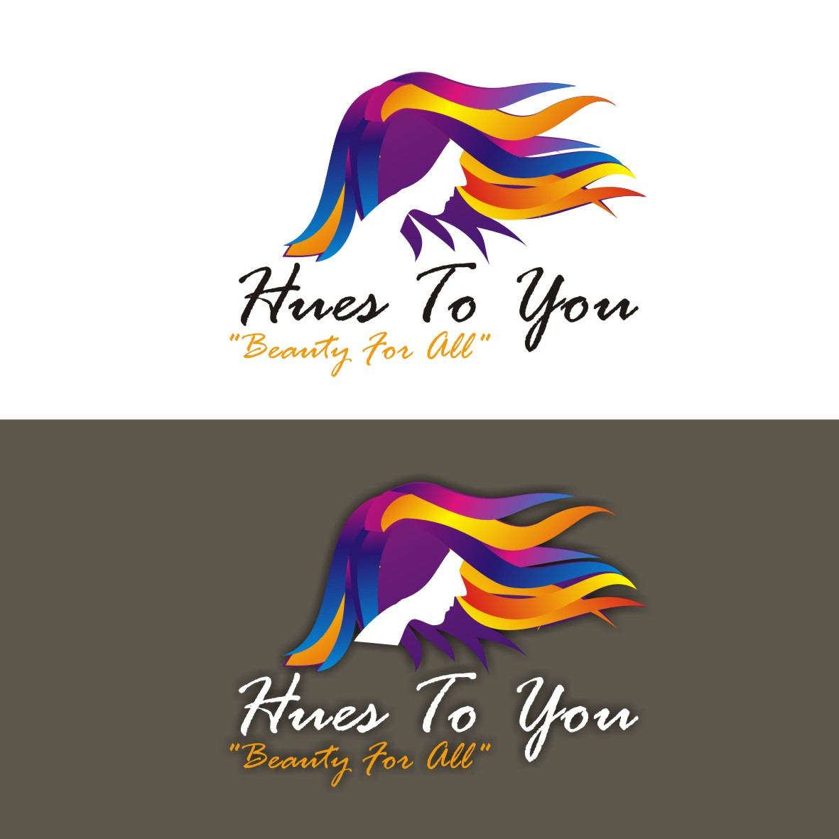 Logo Design by arteo_design - Entry No. 129 in the Logo Design Contest Hues To You Logo Design.