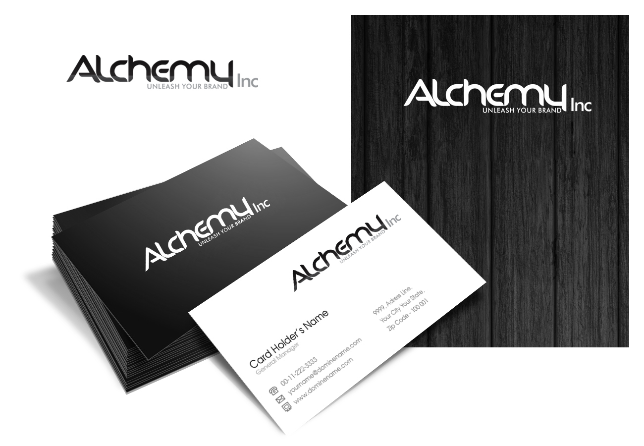 Logo Design by Muhammad Aslam - Entry No. 102 in the Logo Design Contest Logo Design for Alchemy Inc (Creative/Edgy/Sophisticated).