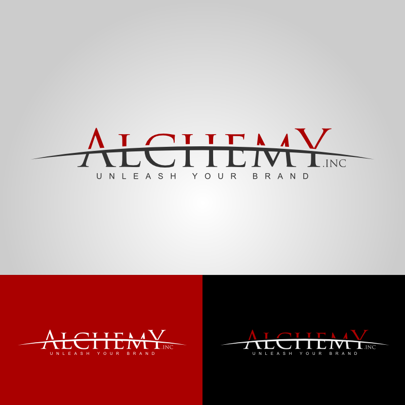 Logo Design by Caem Pathikawa - Entry No. 104 in the Logo Design Contest Logo Design for Alchemy Inc (Creative/Edgy/Sophisticated).
