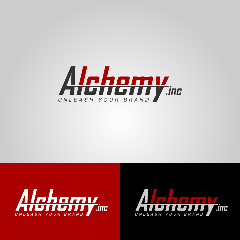 Logo Design by Caem Pathikawa - Entry No. 105 in the Logo Design Contest Logo Design for Alchemy Inc (Creative/Edgy/Sophisticated).