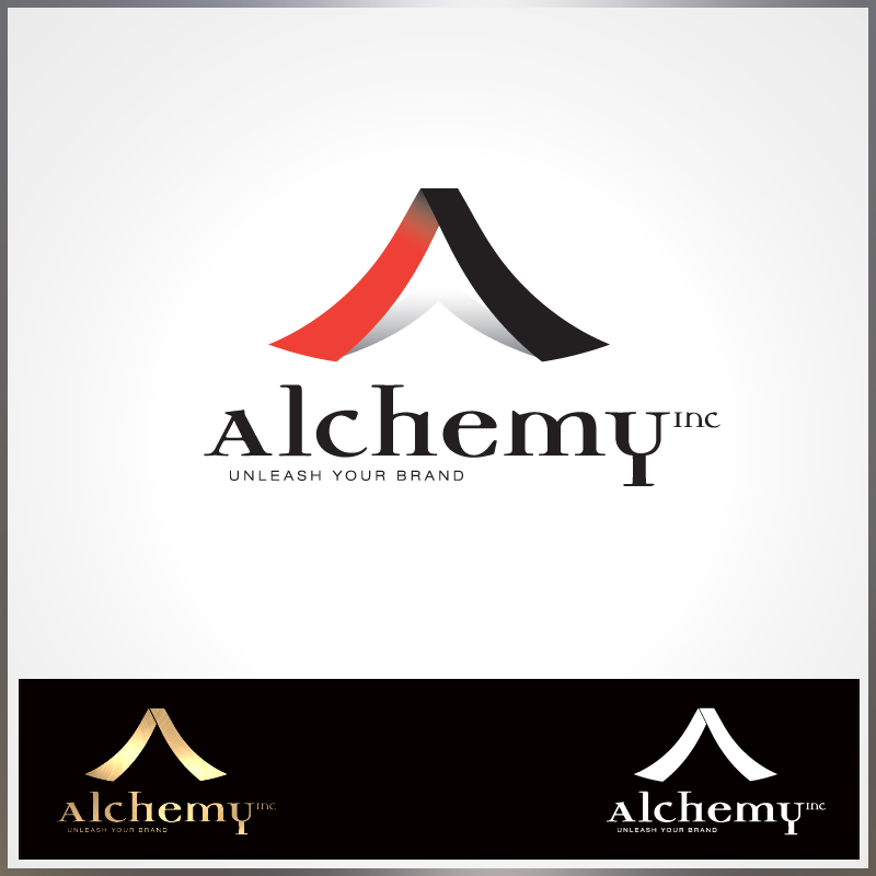 Logo Design by Number-Eight-Design - Entry No. 109 in the Logo Design Contest Logo Design for Alchemy Inc (Creative/Edgy/Sophisticated).