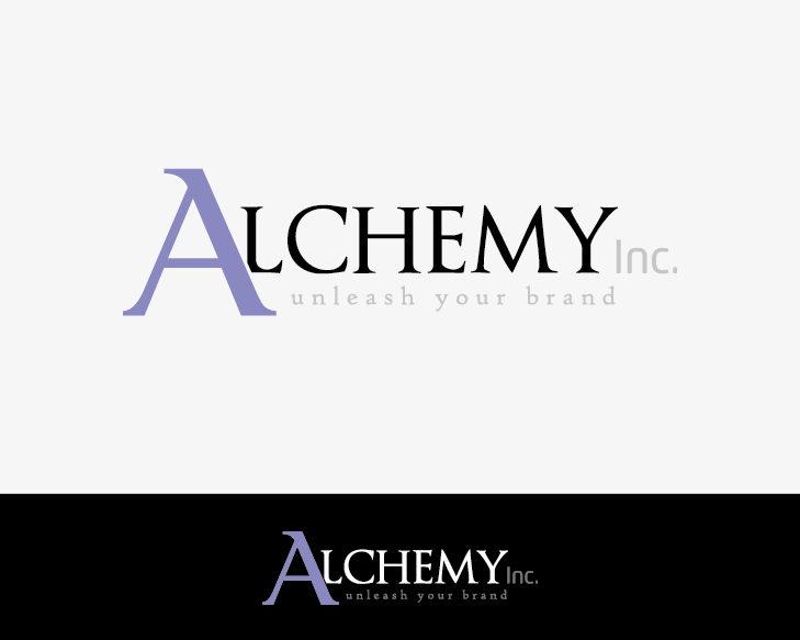 Logo Design by Private User - Entry No. 122 in the Logo Design Contest Logo Design for Alchemy Inc (Creative/Edgy/Sophisticated).