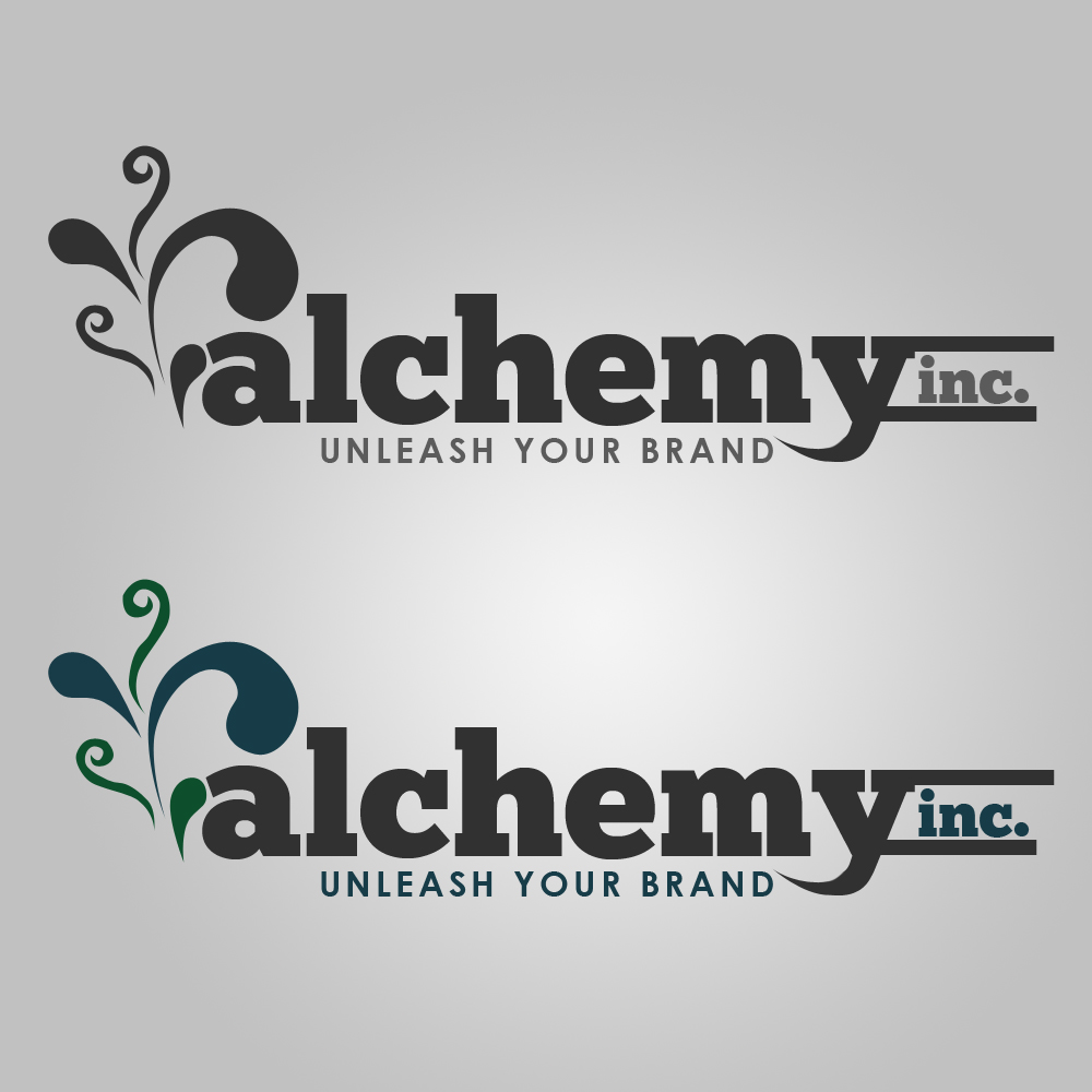 Logo Design by Kenneth Joel - Entry No. 123 in the Logo Design Contest Logo Design for Alchemy Inc (Creative/Edgy/Sophisticated).