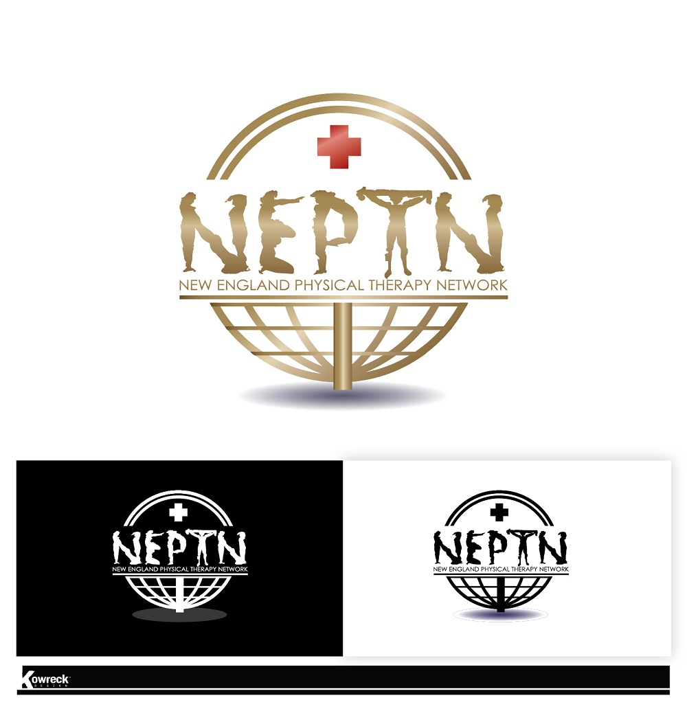 Logo Design by kowreck - Entry No. 14 in the Logo Design Contest Fun Logo Design for NEPTN - New England Physical Therapy Network.