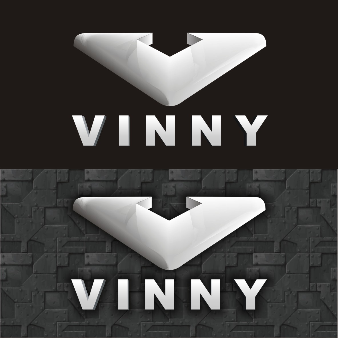 Logo Design by arteo_design - Entry No. 224 in the Logo Design Contest Unique Logo Design Wanted for Vinny.