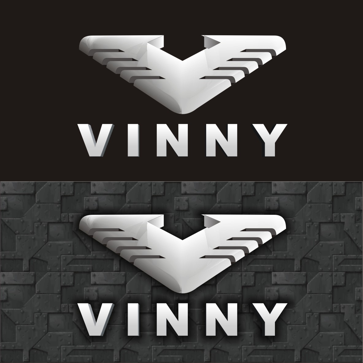 Logo Design by arteo_design - Entry No. 225 in the Logo Design Contest Unique Logo Design Wanted for Vinny.