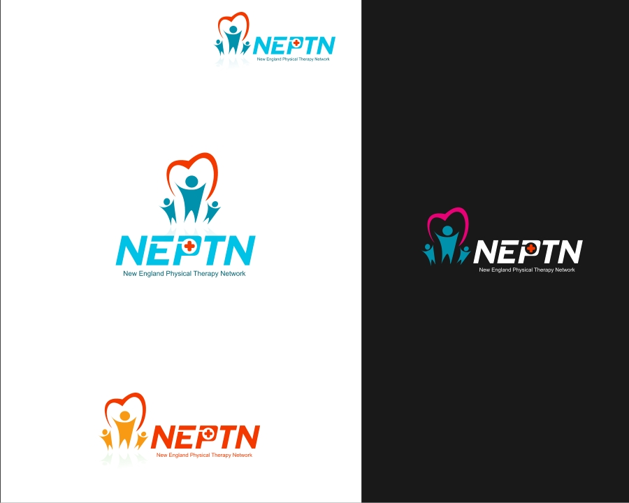Logo Design by Private User - Entry No. 34 in the Logo Design Contest Fun Logo Design for NEPTN - New England Physical Therapy Network.