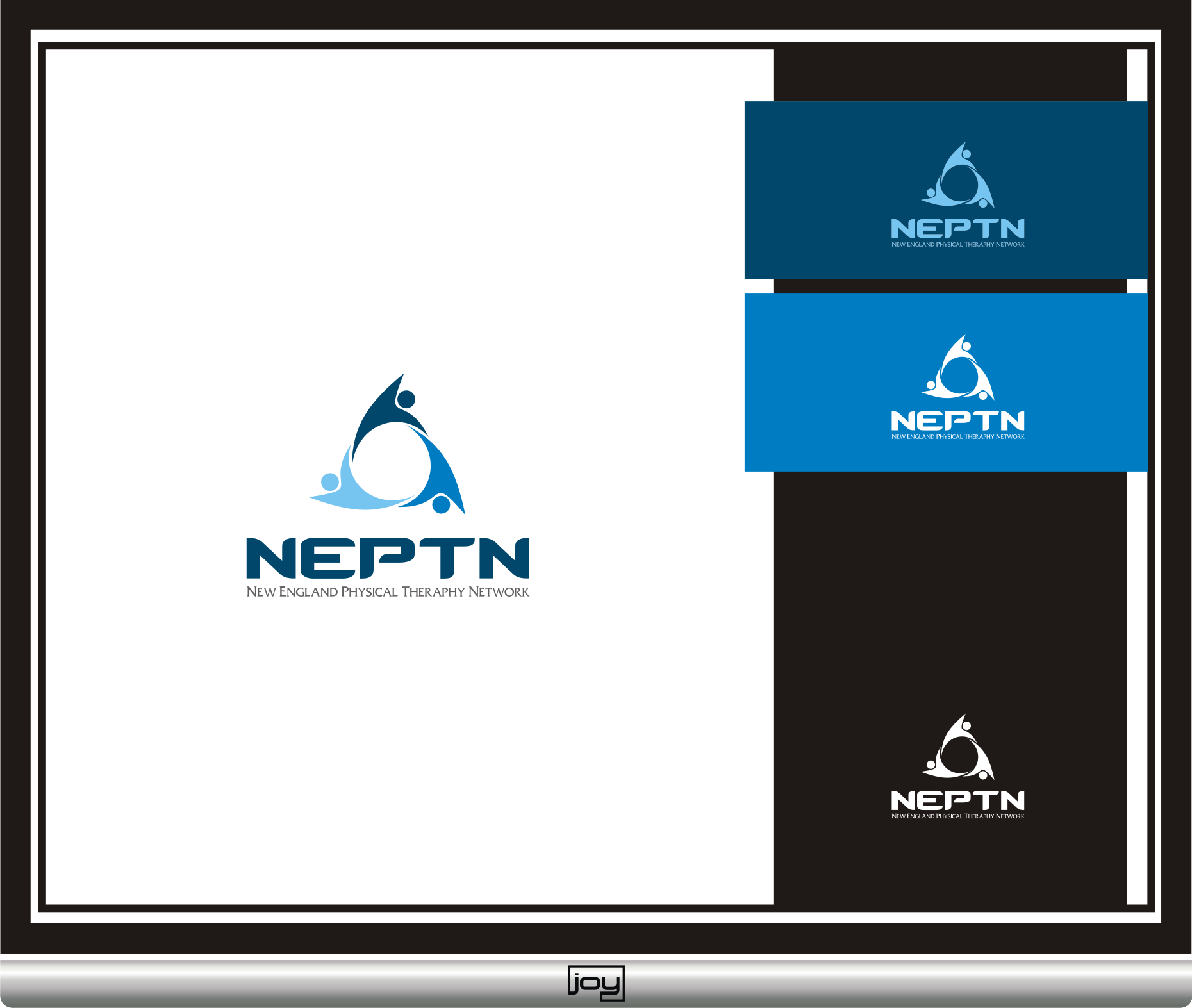 Logo Design by joysetiawan - Entry No. 48 in the Logo Design Contest Fun Logo Design for NEPTN - New England Physical Therapy Network.