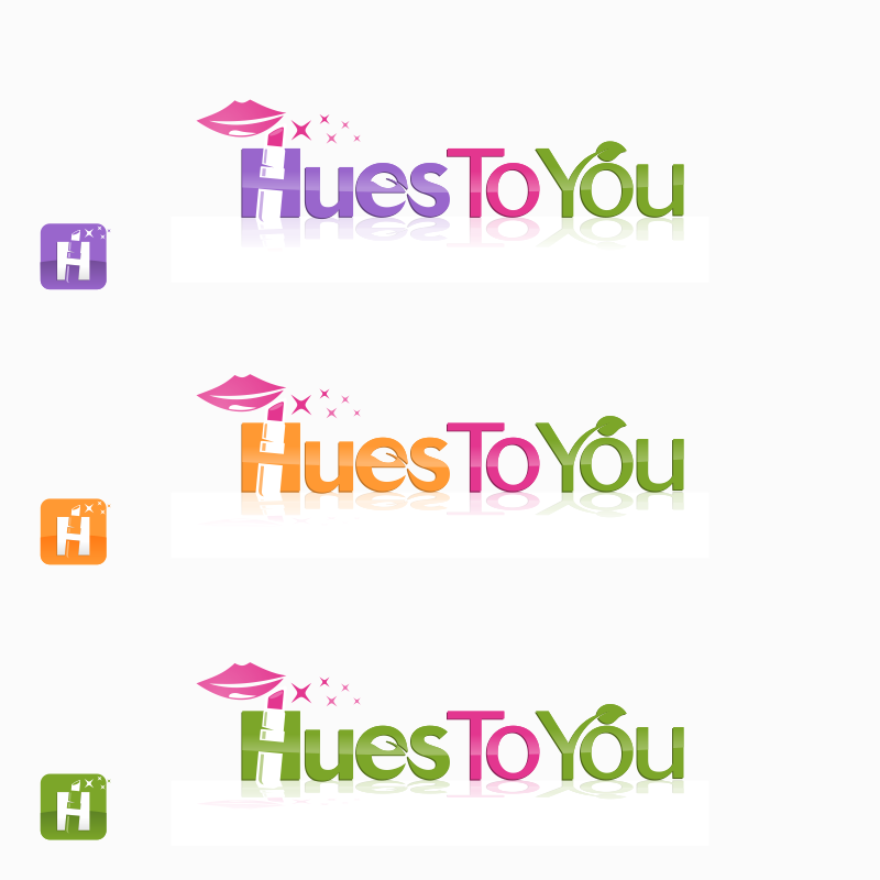 Logo Design by Private User - Entry No. 190 in the Logo Design Contest Hues To You Logo Design.