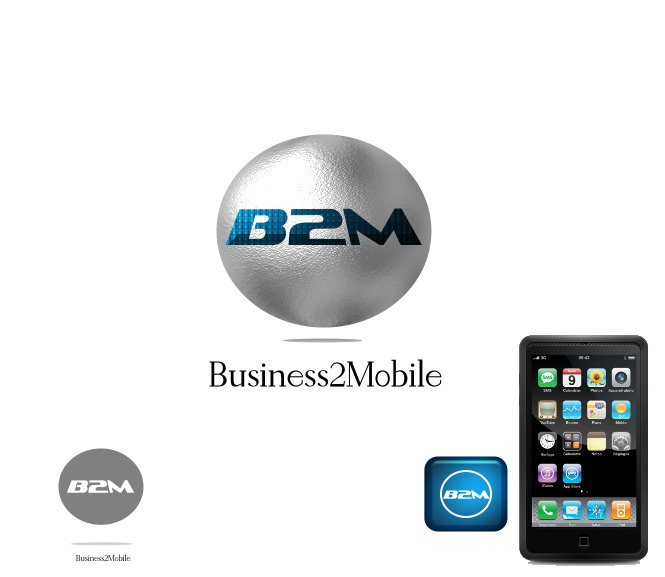Logo Design by Clifton Gage - Entry No. 2 in the Logo Design Contest Logo Design Needed for Exciting New Company Business2Mobile - B2M.