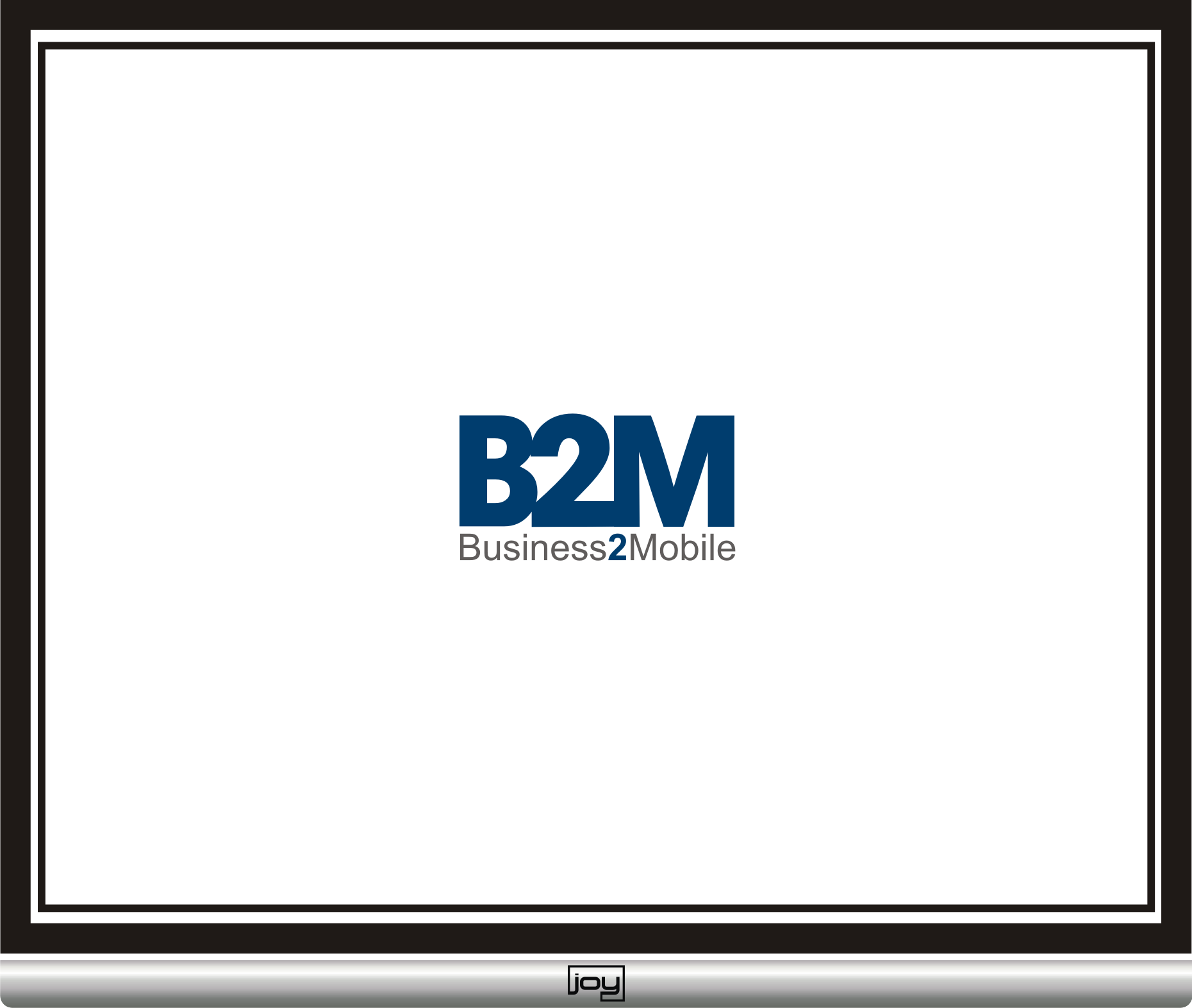 Logo Design by joysetiawan - Entry No. 3 in the Logo Design Contest Logo Design Needed for Exciting New Company Business2Mobile - B2M.