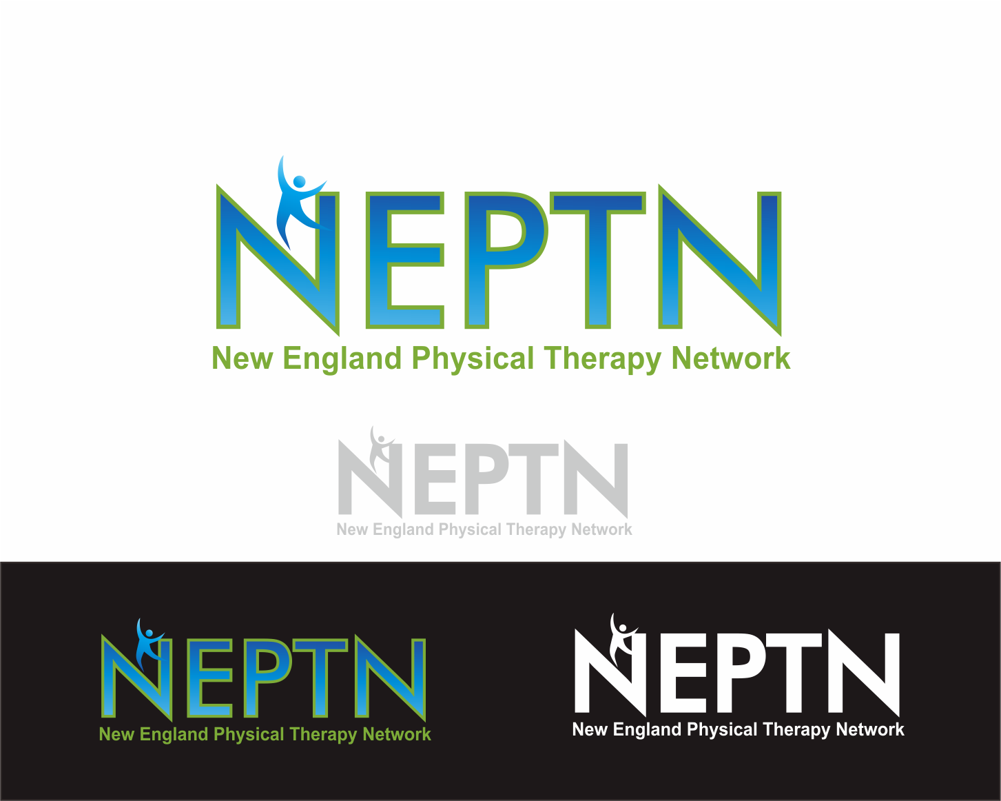 Logo Design by Achmad Zakiyuddin - Entry No. 88 in the Logo Design Contest Fun Logo Design for NEPTN - New England Physical Therapy Network.