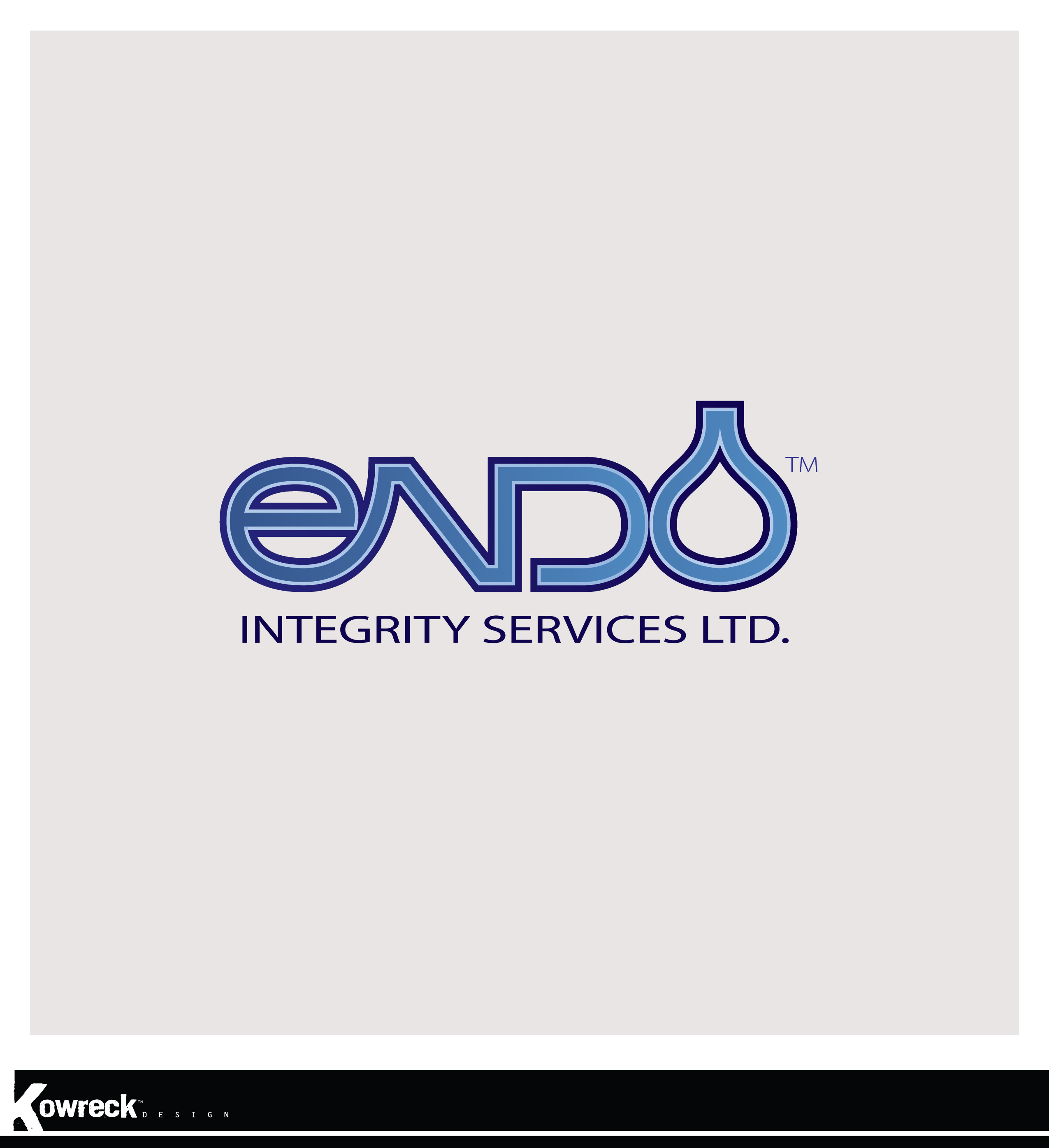 Logo Design by kowreck - Entry No. 13 in the Logo Design Contest New Logo Design for ENDO Integrity Services Ltd..