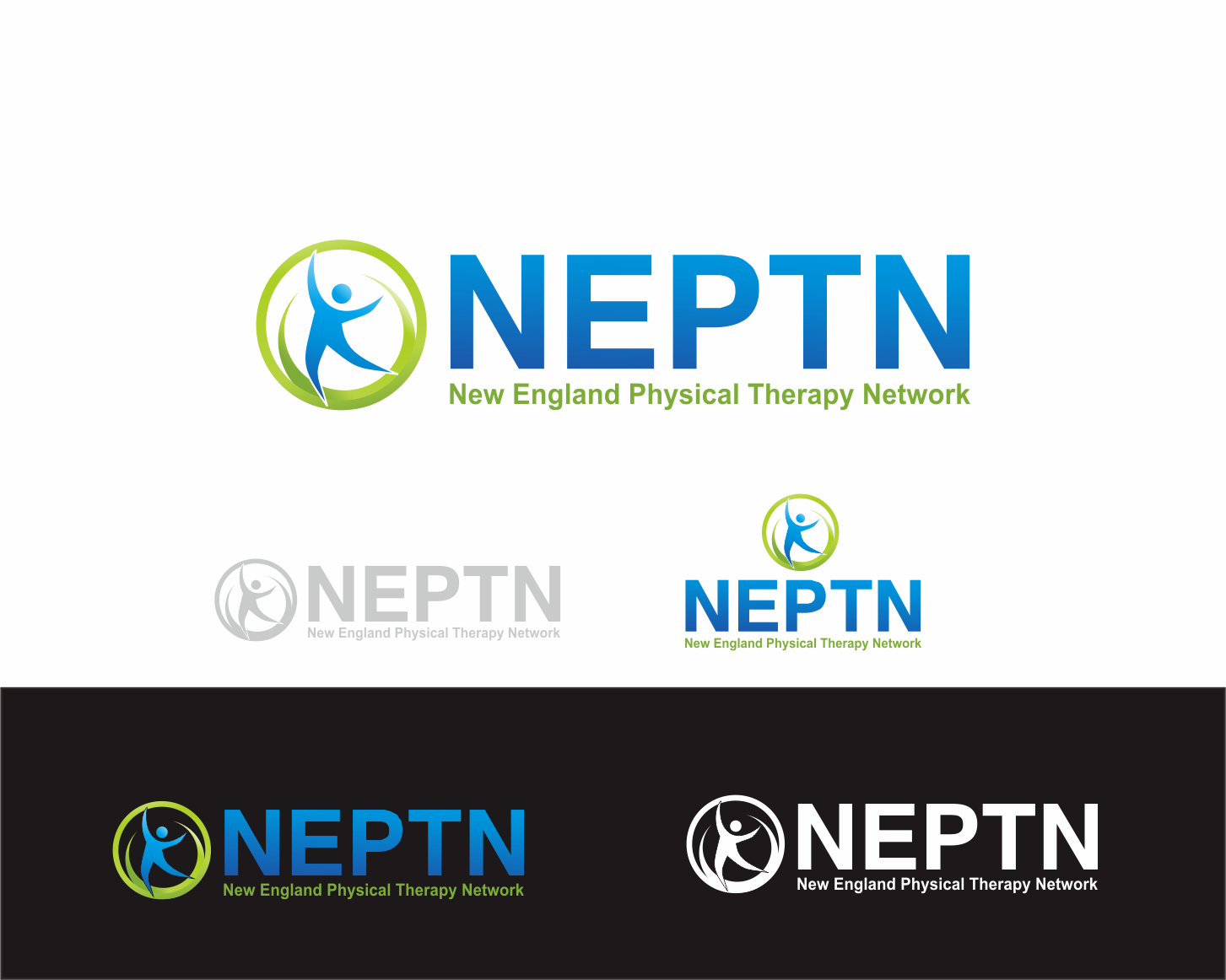 Logo Design by Achmad Zakiyuddin - Entry No. 91 in the Logo Design Contest Fun Logo Design for NEPTN - New England Physical Therapy Network.