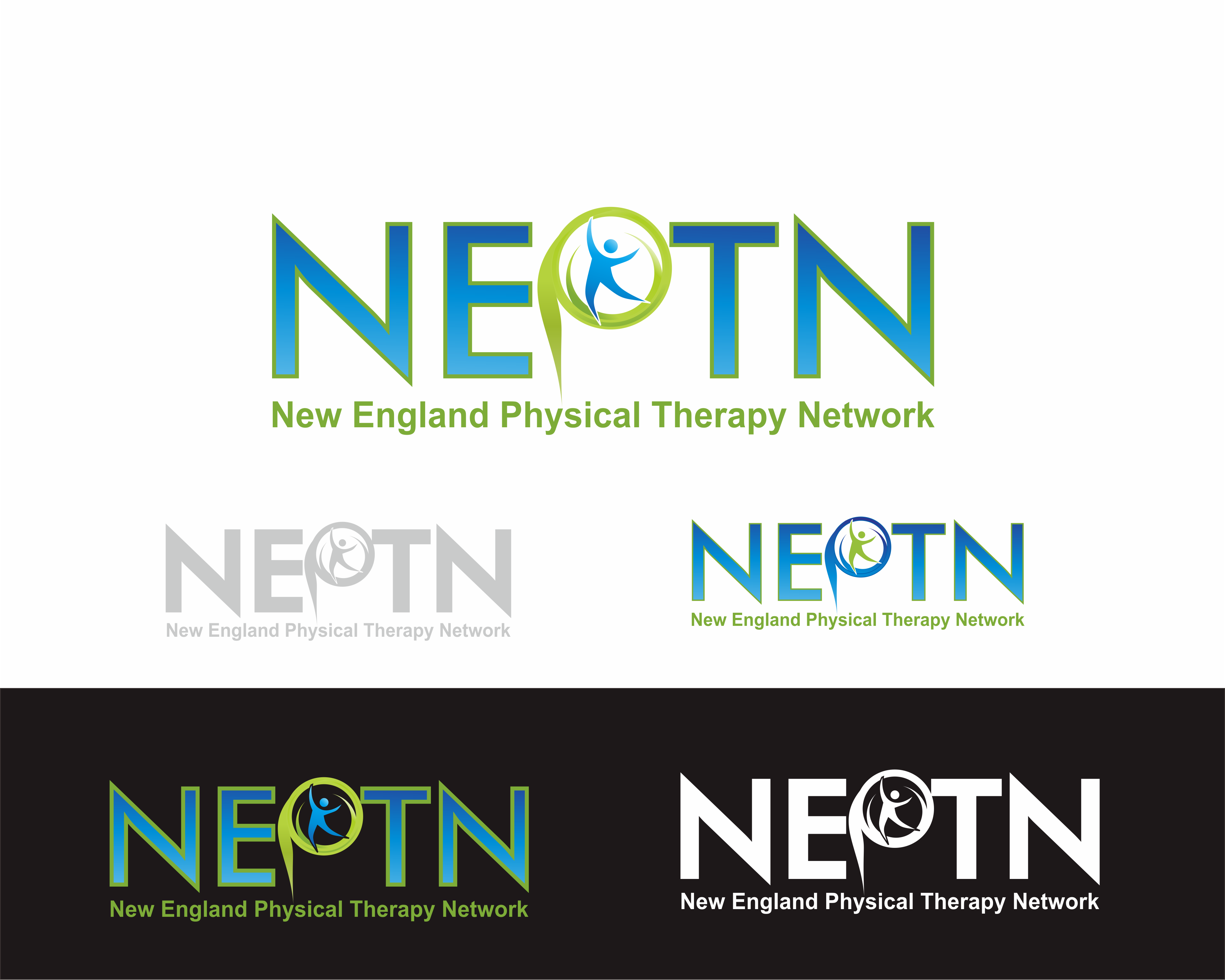 Logo Design by Achmad Zakiyuddin - Entry No. 92 in the Logo Design Contest Fun Logo Design for NEPTN - New England Physical Therapy Network.
