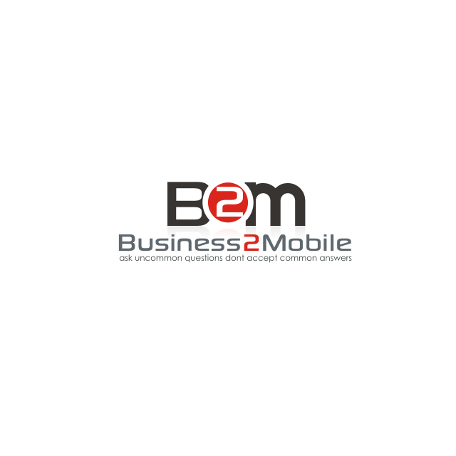 Logo Design by Think - Entry No. 16 in the Logo Design Contest Logo Design Needed for Exciting New Company Business2Mobile - B2M.