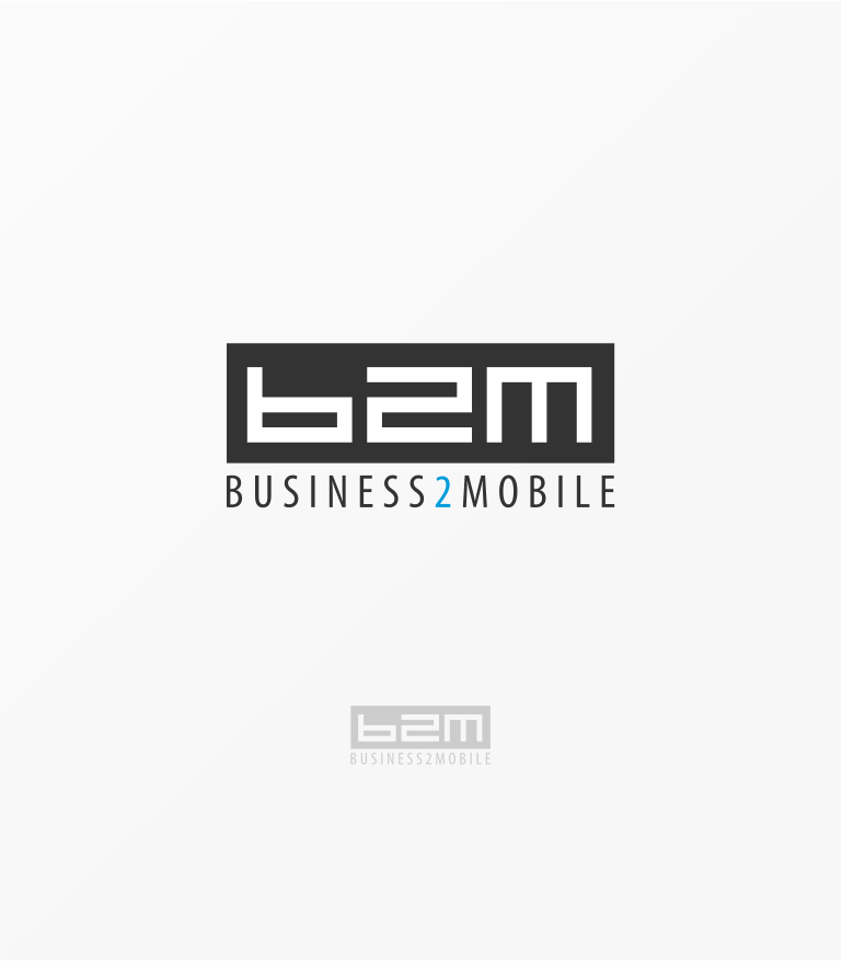 Logo Design by Jorge Sardon - Entry No. 20 in the Logo Design Contest Logo Design Needed for Exciting New Company Business2Mobile - B2M.