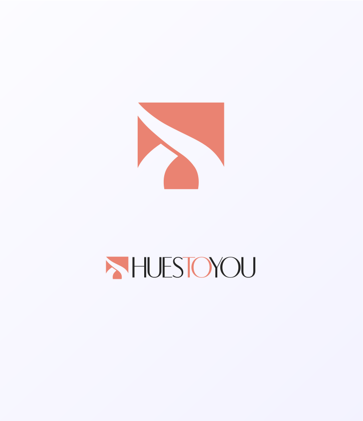 Logo Design by Jorge Sardon - Entry No. 192 in the Logo Design Contest Hues To You Logo Design.