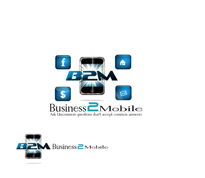 Logo Design by Clifton Gage - Entry No. 24 in the Logo Design Contest Logo Design Needed for Exciting New Company Business2Mobile - B2M.