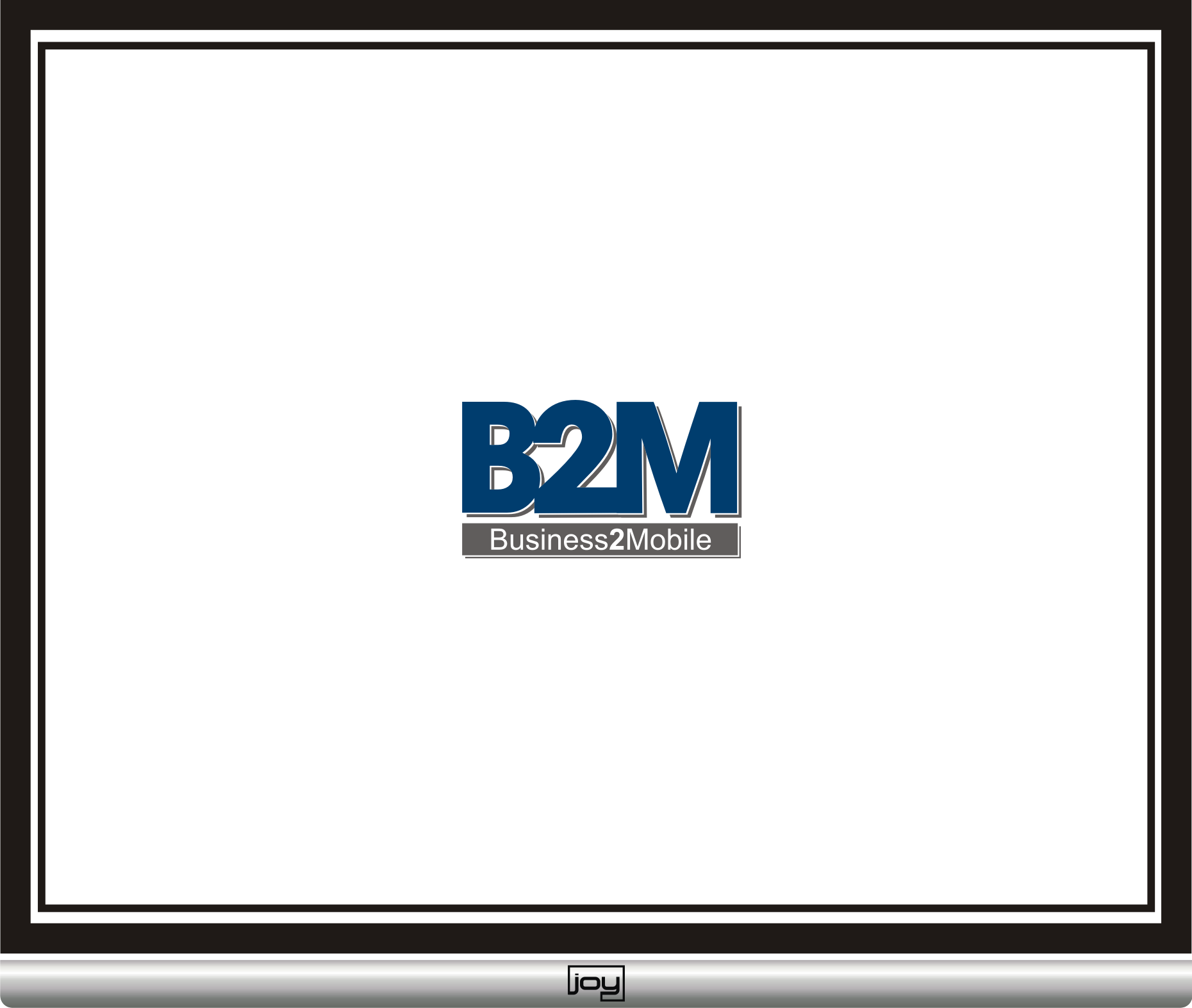 Logo Design by joysetiawan - Entry No. 39 in the Logo Design Contest Logo Design Needed for Exciting New Company Business2Mobile - B2M.
