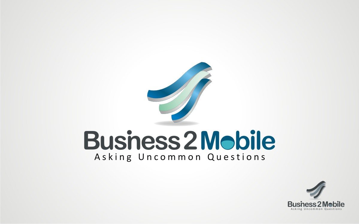 Logo Design by Eric White Origami Associates - Entry No. 48 in the Logo Design Contest Logo Design Needed for Exciting New Company Business2Mobile - B2M.