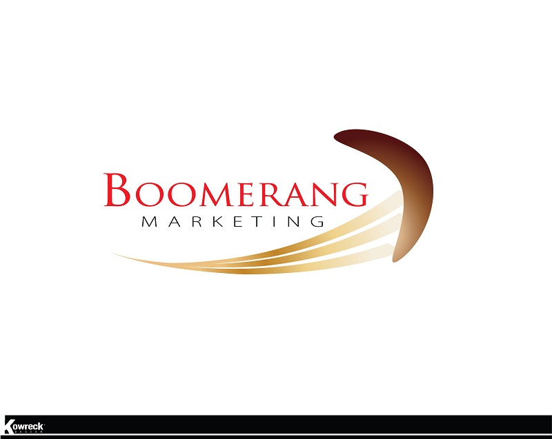 Logo Design by kowreck - Entry No. 1 in the Logo Design Contest Unique Logo Design Wanted for Boomerang Marketing.