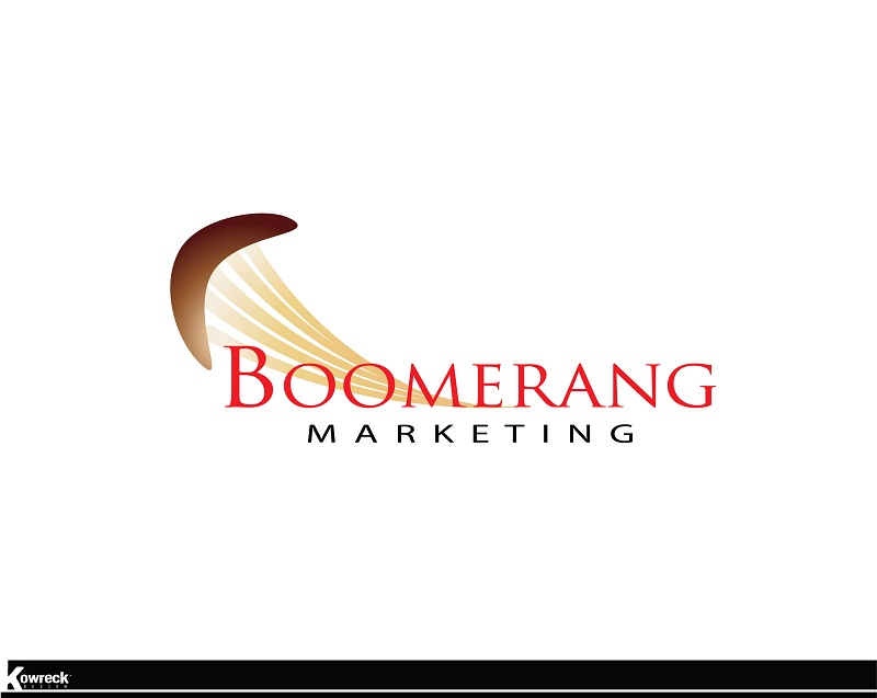 Logo Design by kowreck - Entry No. 2 in the Logo Design Contest Unique Logo Design Wanted for Boomerang Marketing.