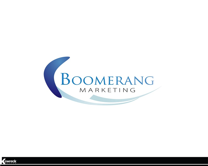 Logo Design by kowreck - Entry No. 3 in the Logo Design Contest Unique Logo Design Wanted for Boomerang Marketing.