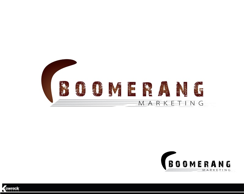 Logo Design by kowreck - Entry No. 4 in the Logo Design Contest Unique Logo Design Wanted for Boomerang Marketing.