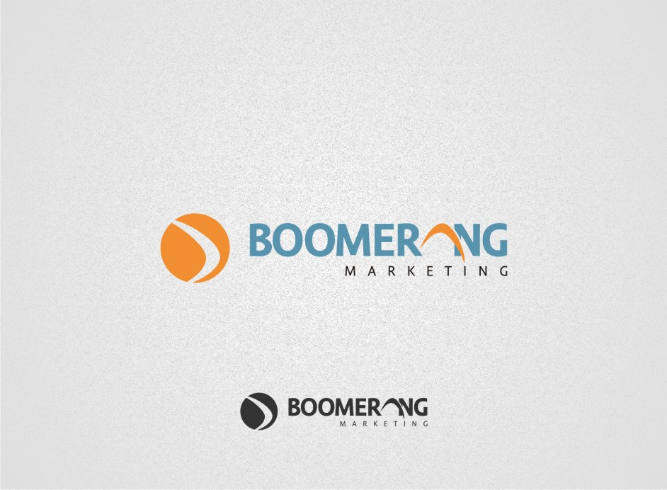 Logo Design by graphicleaf - Entry No. 9 in the Logo Design Contest Unique Logo Design Wanted for Boomerang Marketing.