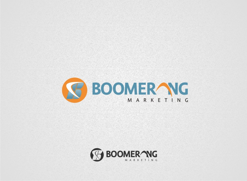 Logo Design by graphicleaf - Entry No. 10 in the Logo Design Contest Unique Logo Design Wanted for Boomerang Marketing.